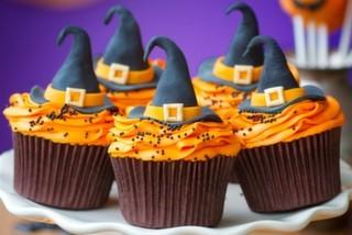 Cadılar Bayramına Özel Cupcake Tasarımları