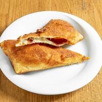 Kaşar peyniri ve Pastırmalı / Beef bacon, cheddar cheese