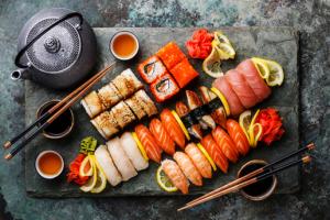 Beijing Hotel Sushi & Noodle House'dan Kişi Başı Sushi Menüleri