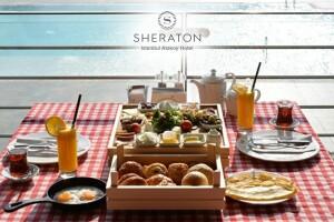 Sheraton Ataköy'de Her Cumartesi ve Pazar Geçerli Kasa Kahvaltı