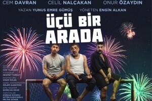 'Üçü Bir Arada' Tiyatro Oyunu Bileti
