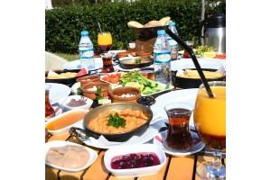 Şellale Cafe & Restaurant'tan Serpme Kahvaltı