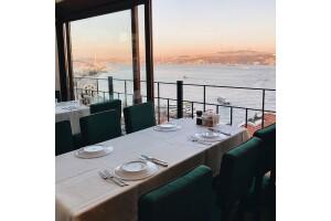 Taksim MaAile Restoran'da Boğaz Manzaralı Kahvaltı Menüleri