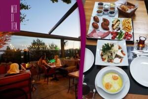 Küçük Çamlıca Merdiven Cafe'de Lezzet Dolu Serpme Kahvaltı Menüsü