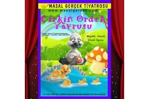 Çocukların Keyifle İzleyeceği 'Çirkin Ördek Yavrusu' Tiyatro Bileti