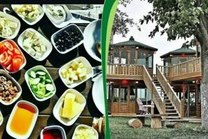 Şehr-i Bahçe'de Size Özel Tv'li Manzaralı Kahvaltı Keyfi
