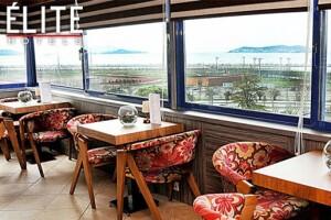 Elite Hotel Küçükyalı'nın Adalar ve Deniz Manzarasına Nazır 5 Çayı