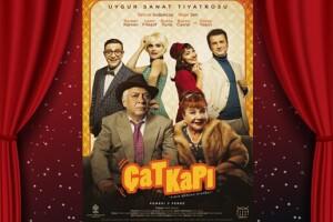 Ünlü Oyunculardan 'Çat Kapı' Tiyatro Bileti