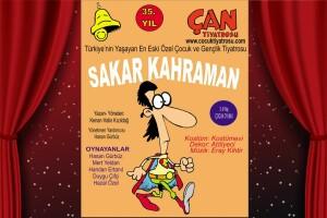 'Sakar Kahraman' Çocuk Tiyatro Oyunu Bileti