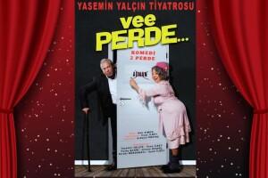 Yasemin Yalçın ve İlyas İlbey'in Sahnelediği 'Vee Perde' Tiyatro Bilet