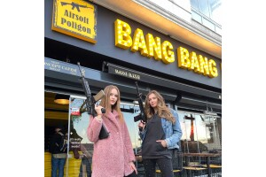 Bang Bang Cafe de 60 Adet Mermi Atışı ve Sıcak Çikolata Keyfi