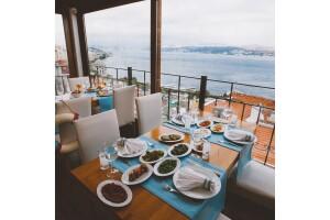 Taksim MaAile Restoran'da Boğaza Nazır Akşam Yemeği Menüleri