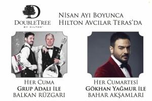 DoubleTree by Hilton Avcılar'da Canlı Müzik Eşliğinde Akşam Yemeği