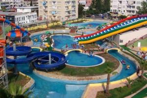 Alanya Aquapark'tan Yemek Menüsü Seçenekli Aquapark Giriş Bileti