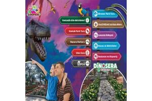 Göynük Dinosera - Dinogül Bahçesi Giriş Bileti ve Serpme Kahvaltı