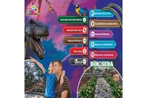 Göynük Dinosera - Dinogül Bahçesi Doyasıya Eğlenceye Giriş Biletleri