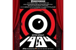 George Orwell'in Kült Eseri '1984 Büyük Gözaltı' Tiyatro Bileti