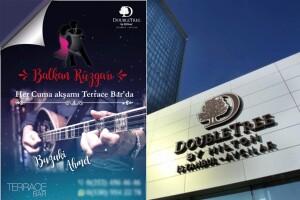 Doubletree By Hilton Avcılar Teras Bar'da Canlı Müzik & Akşam Yemeği
