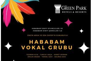 The Green Park Hotel Merter'de 18 Ekim Canlı Müzikli Gala Yemeği