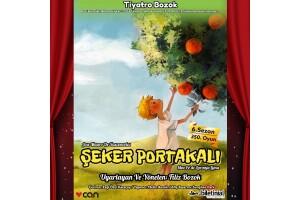 Ünlü Kitaptan Uyarlanan 'Şeker Portakalı' Çocuk Tiyatro Oyunu Bileti