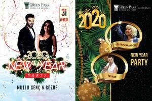 The Green Park Hotel Bostancı Eğlence Programı ve Yılbaşı Gala Yemeği