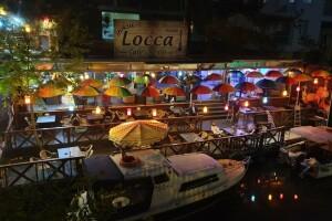 Göksu Locca Cafe'den Nehir Kenarında Enfes Akşam Yemeği