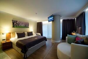 Gayrettepe Taba Luxury Suites & Hotel'de Çift Kişilik Konaklama Keyfi