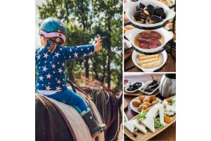 Çatalca Başarır At Çiftliği Serpme Kahvaltı, Köfte Ekmek ve At Safari